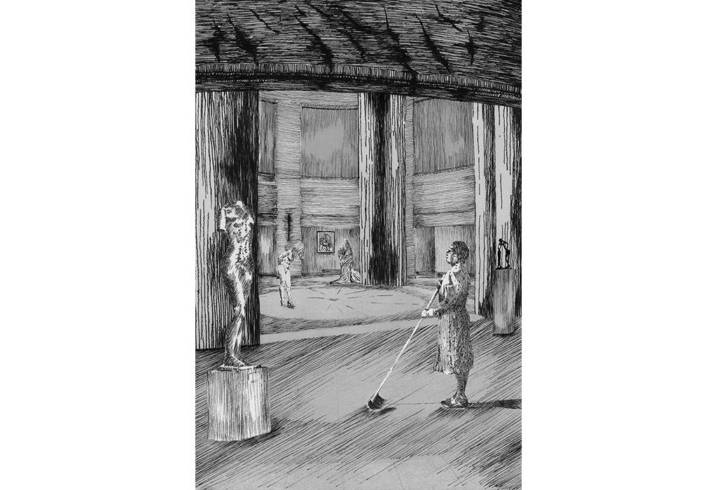 print, museum, piranesi, custodian